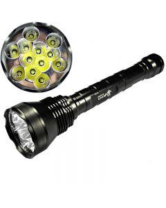 Ultrafire 12T6 Cree XM-L T6 13800 Lumen 5-Mode High Power LED Flashlight