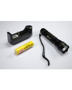 UltraFire WF-501B XML U2 LED Flashlight+ 18650 Battery+Charger