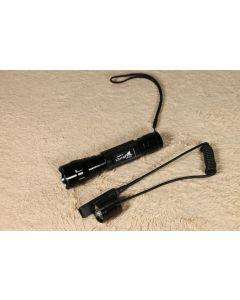UltraFire WF-501B  Cree U2 LED Flashlight with a remote control switch