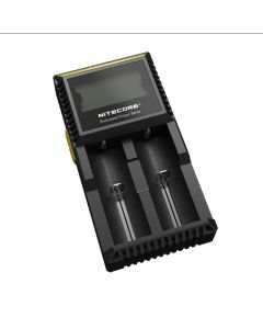 New Nitecore D2 Digcharger Battery Charger LCD Display Nitecore Charger for 26650 18650 18350 16340 14500 10440
