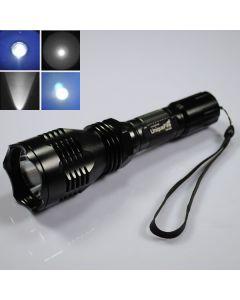 UniqueFire HS-802 Cree Blue light Long range Led Flashlight