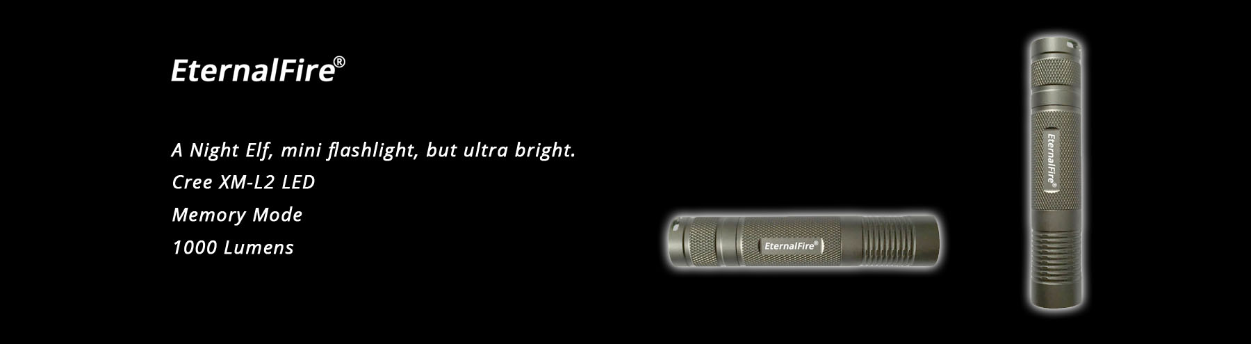 EternalFire E05 led flashlight